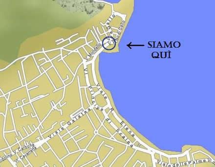 Cartina Sicilia Mondello.Dove Siamo